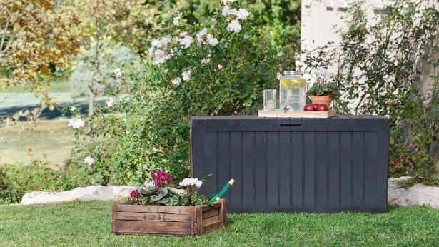 oppbevaring puter hagemøbler