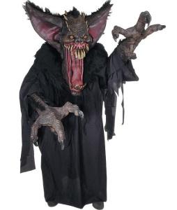 Eller, du kan rett å slett kjøpe et monsterkostyme. Denne er hvertfall skummel!