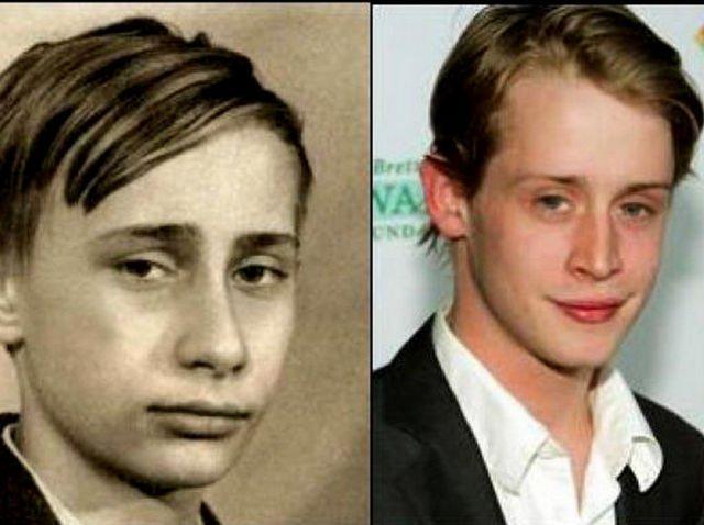 Macaulay-Culkin-and-the-young-Vladimir-Putin